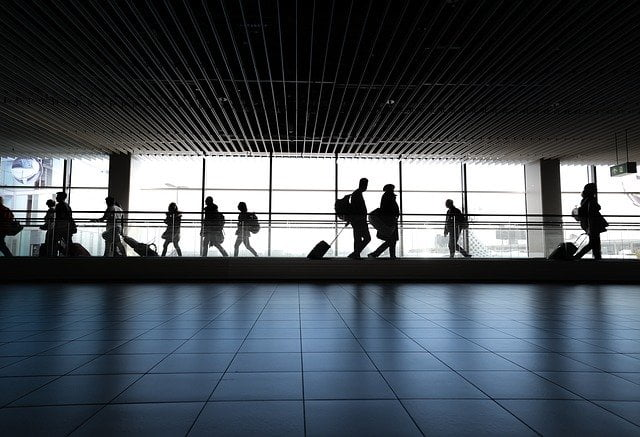 viaggio in aeroporto