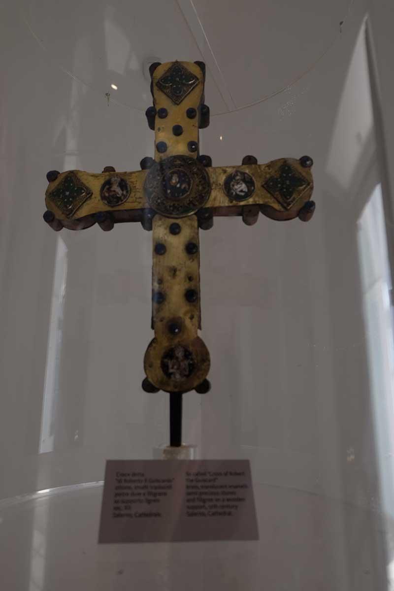 il crocifisso di Roberto il Guiscardo