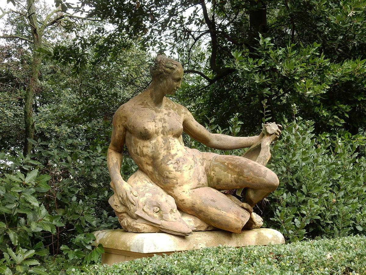 il giardino di Villa D'Ayala