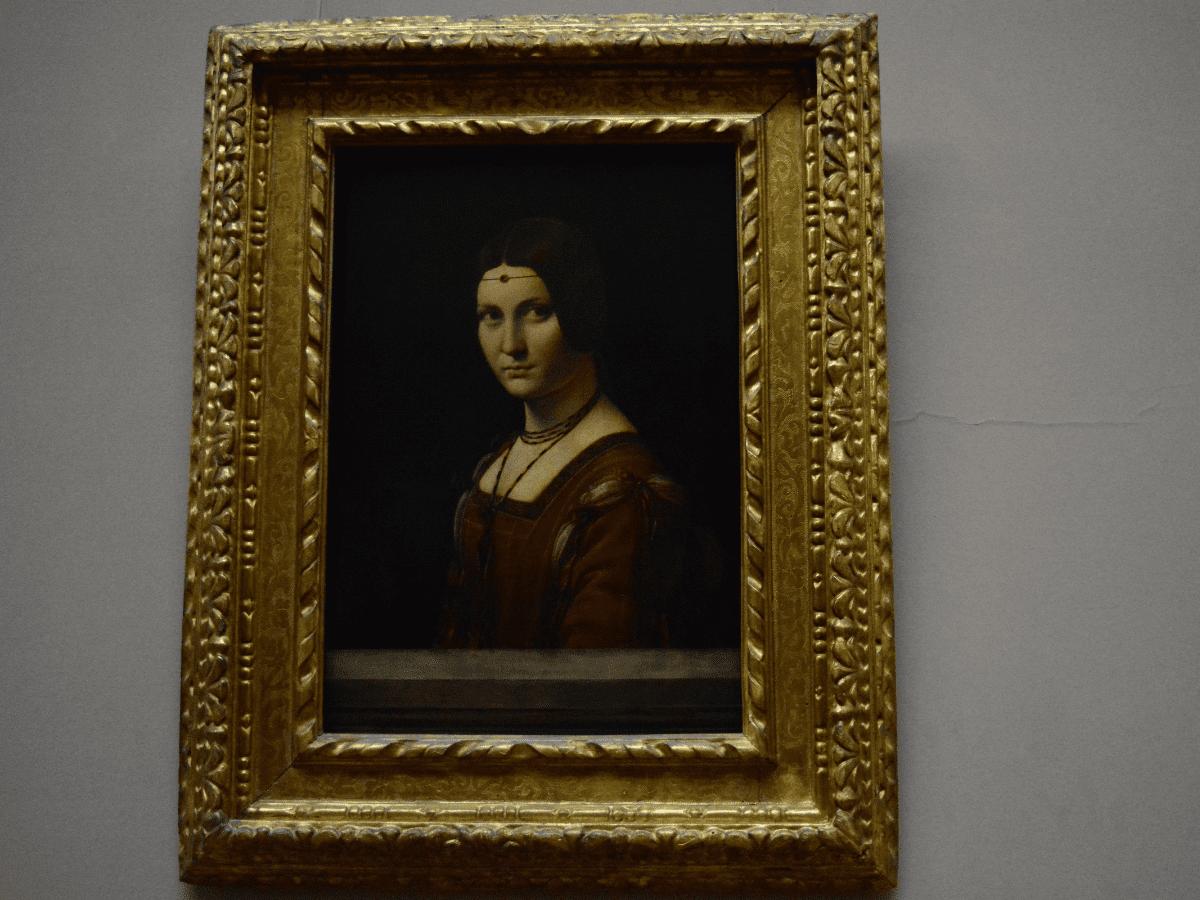 Belle Ferroniere Leonardo Da Vinci