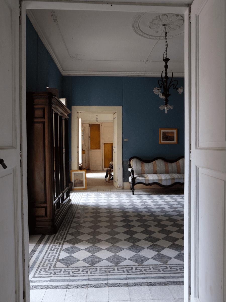 corridoio villa farina