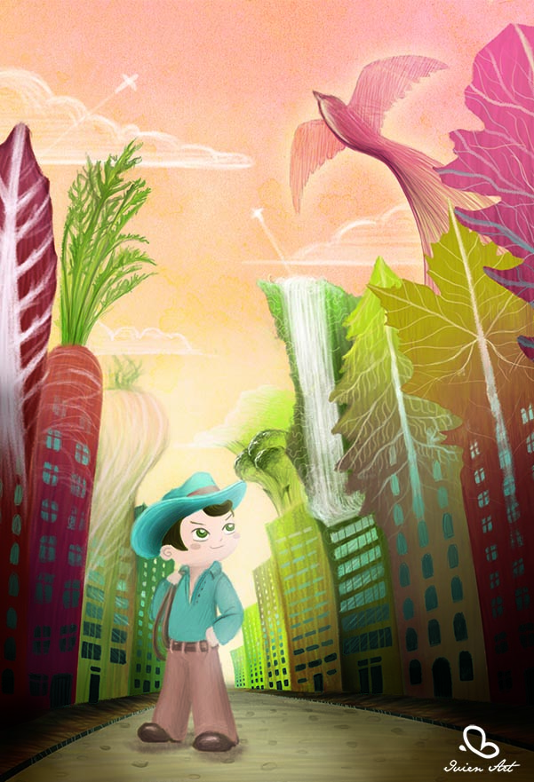 valentina lauria - ivien art - children's point of view second version