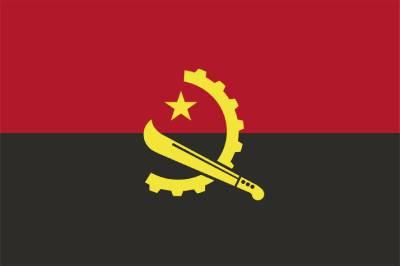 Vlag Angola RF