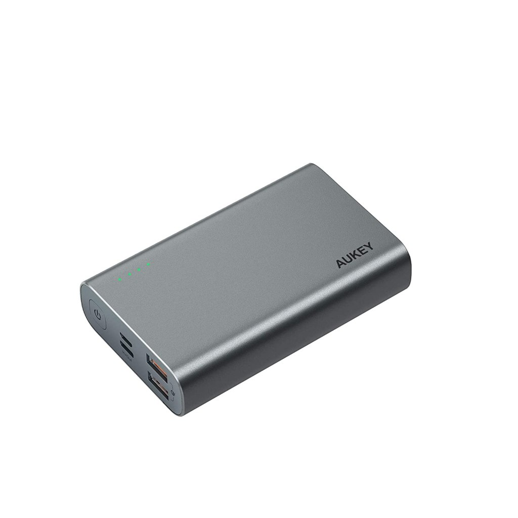 Aukey PB-XD12 USB Type-C Power Delivery and QC3.0 Power Bank 10000mAh