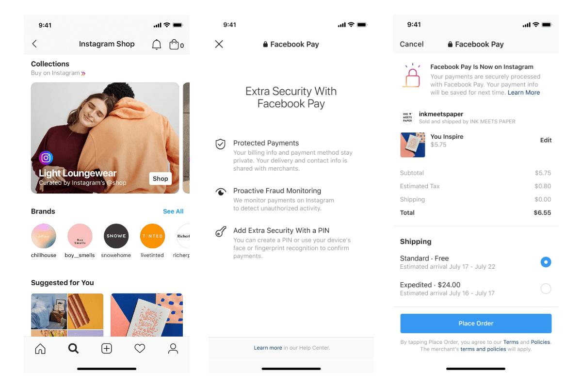 Instagram Introducing Instagram Shop for Brands and Creators