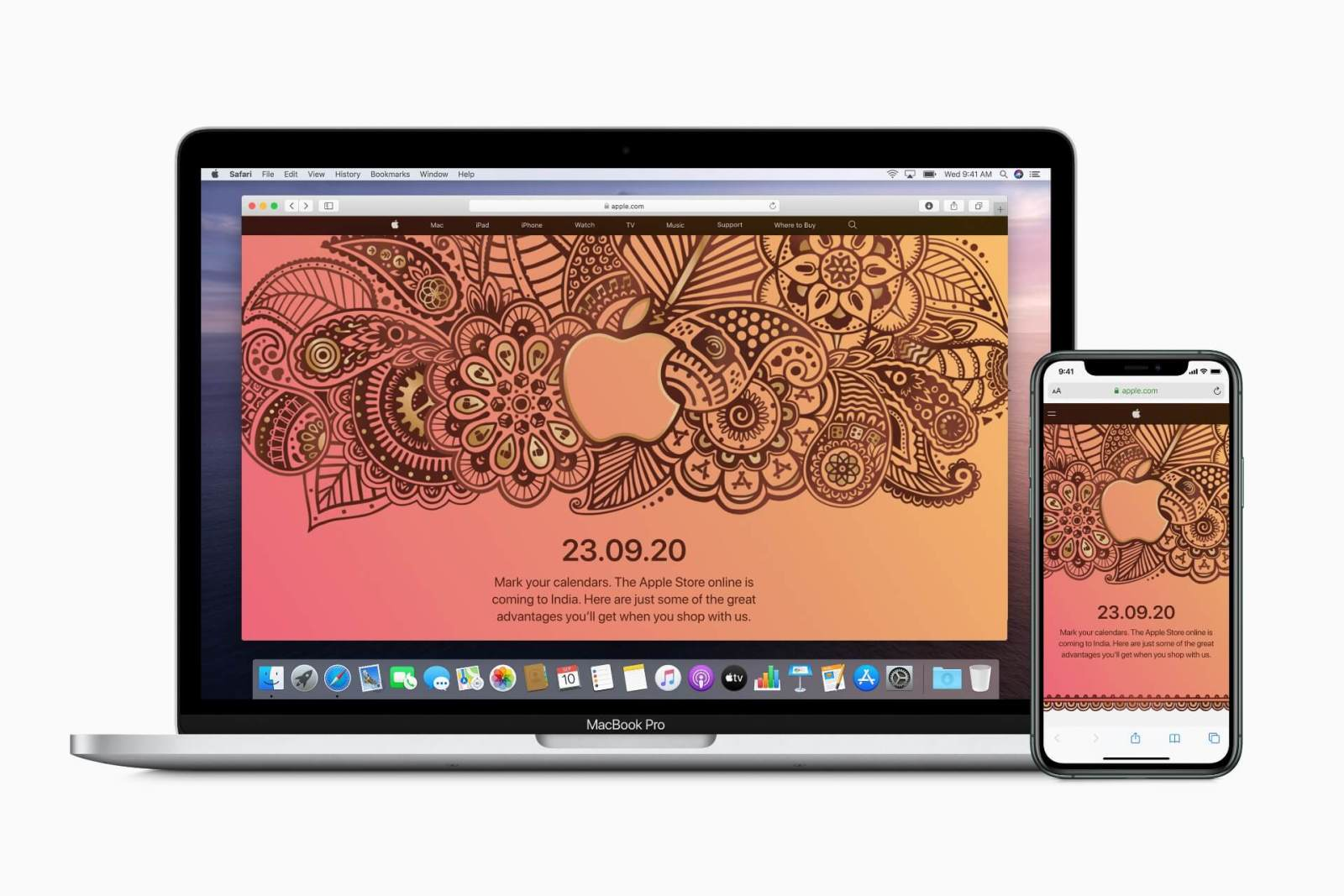Apple Brings Online Store to India on September 23