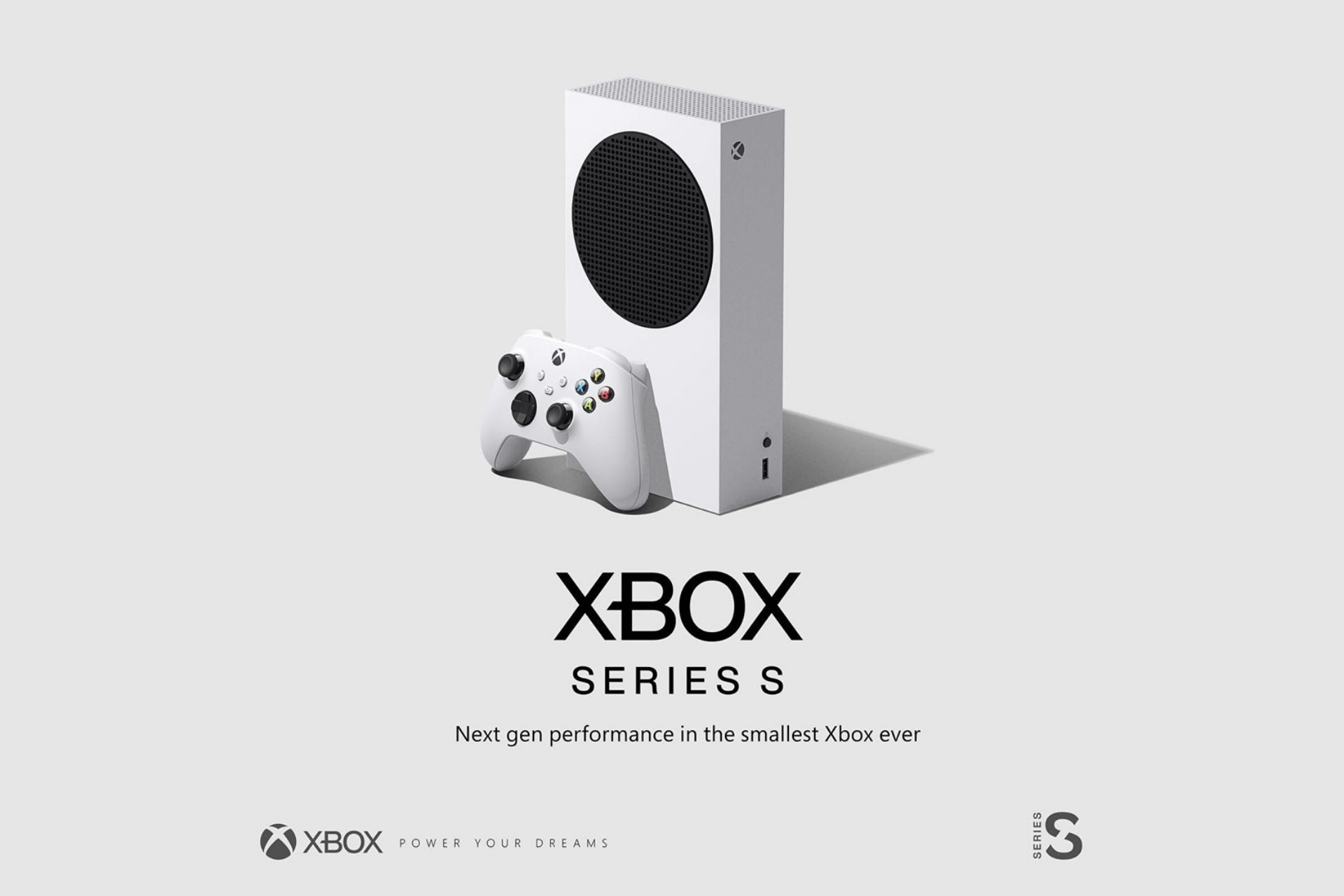 Xbox Announced Smallest Xbox Series S Console to Deliver Next-Gen Performance at $299