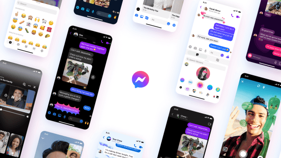 Facebook Messenger gets a new logo, chat color, chat theme, custom reactions, selfie stickers, and vanish mode are coming