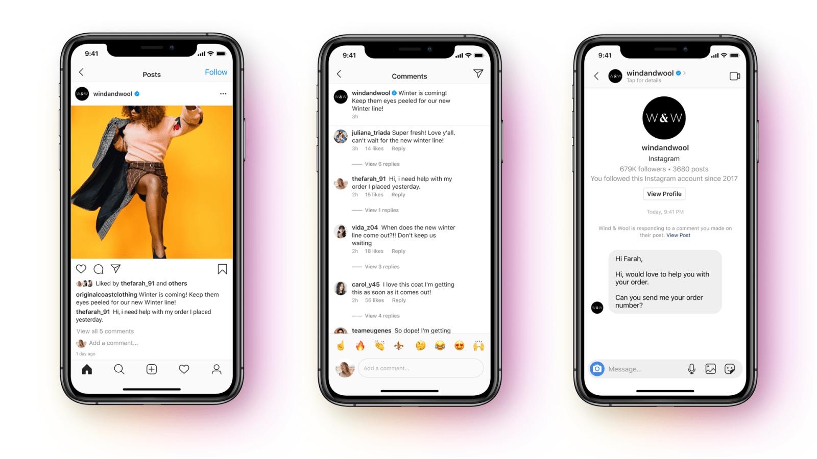 Facebook Update to Support New Messenger API for Instagram Messaging