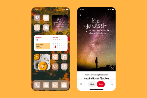Pinterest Widget for iOS 14 Now Available