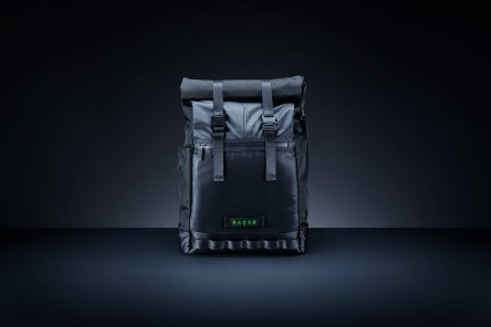 Buy Razer Recon 15 Rolltop Backpack and Get Team Razer V2 Keychain FREE