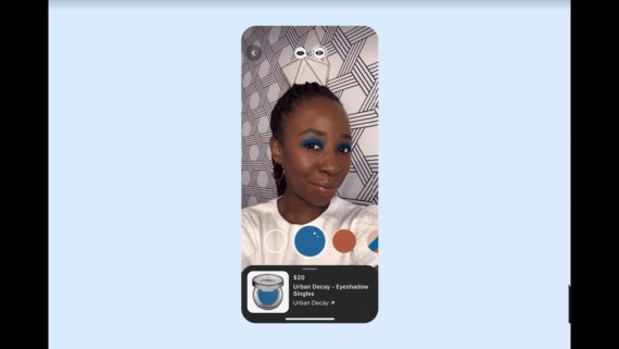 Pinterest Launched AR Powered Try on Feature For Eyeshadow