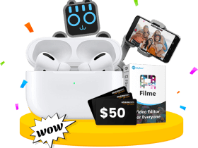 Get 85% Off on iMyFone Filme and Win AirPods Pro and more prizes