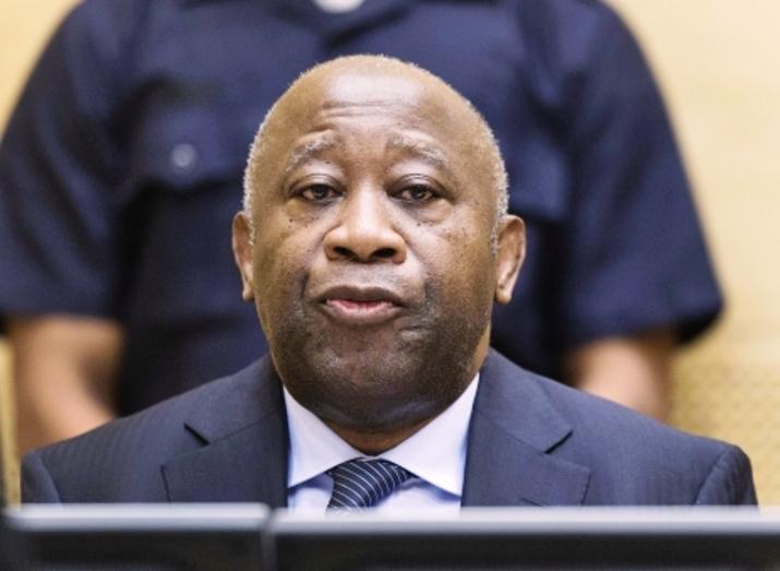 Laurent Gbagbo, le 05 décembre 2011, à l