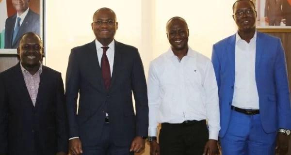 Election à la Présidence de L'UNJCI : Le Ministre Sidi Touré échange avec les candidats