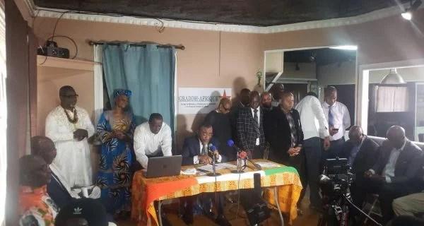 CONFERENCE DE GRADDH-AFRIQUE AUX ÉTATS-UNIS: Dr BOGA lance l'appel à l'Union, pour une victoire absolue de l'opposition Ivoirienne en 2020