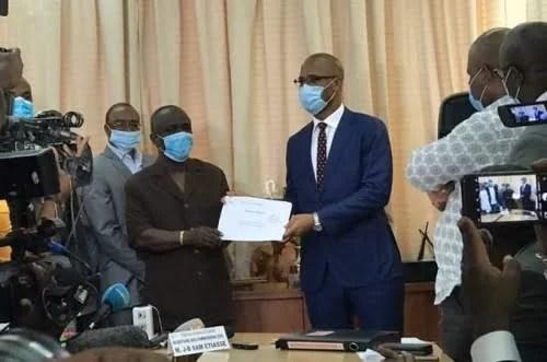Élection à la FIF : Didier Drogba a déposé son dossier, 8 entités parrainent sa candidature