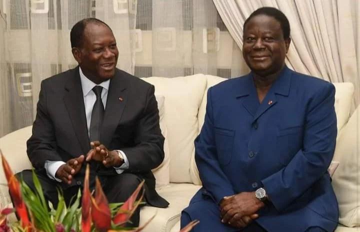 Est-ce que la rencontre, des Présidents Ouattara et Bédié va dans le sens de la paix ? Découvrez la réponse des Ivoiriens en cliquant 👇👇