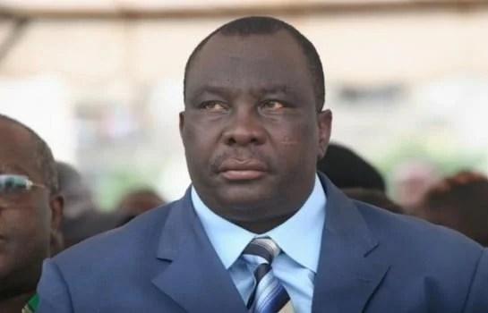 Le ministre adjoumani