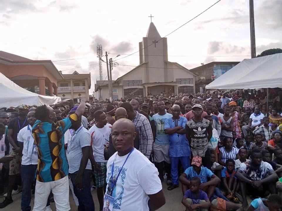 Retour de Gbagbo: Une Forte Mobilisation à Bonoua