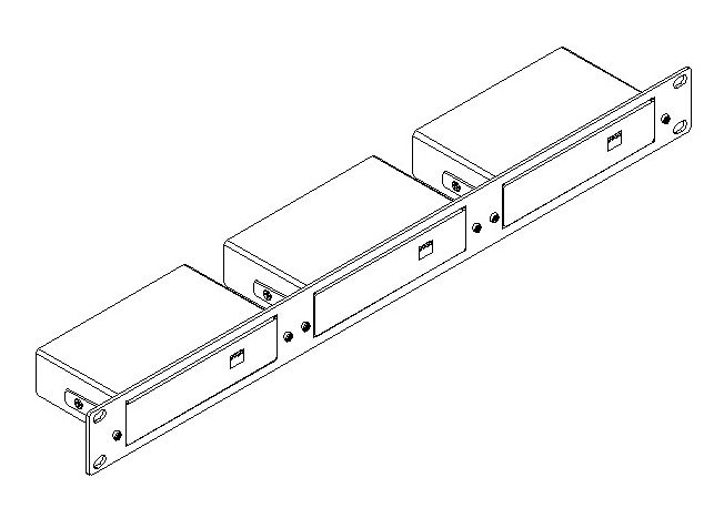 Kramer RK-3TR 19-Inch Rack Adapter for Oversize TOOLS