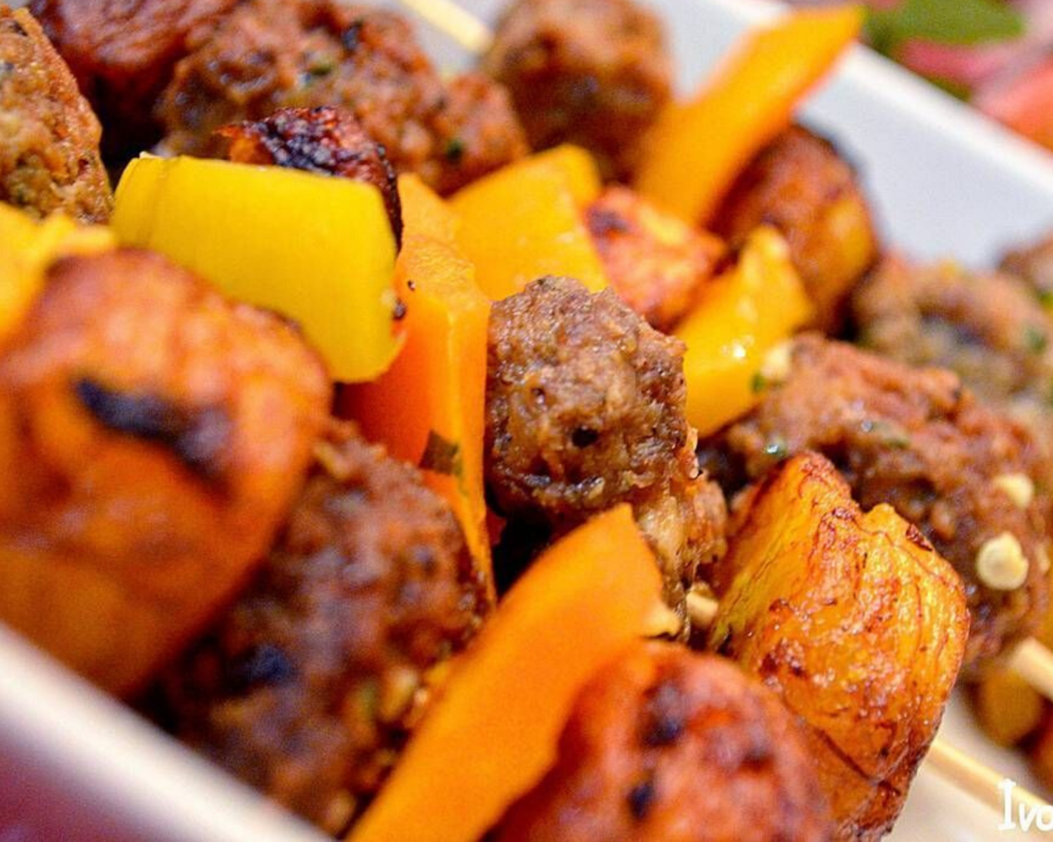 Brochettes d'alloco de Ivorian food