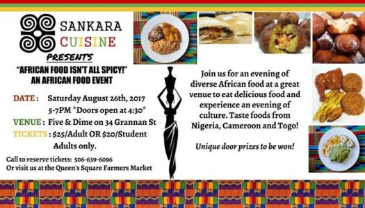 Sankara African Food Event