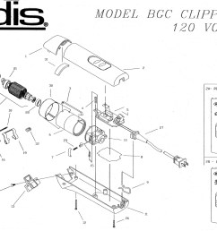 andis bgc excel parts list [ 2372 x 1550 Pixel ]
