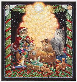 Ivory Cats  Festive Days USA Gallery