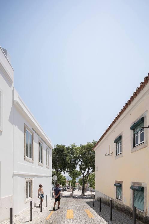 Reportagem Fotografia de arquitectura portuguesa fotografo Ivo tavares studio projecto Casa na Ajuda de Smg Arquitectos