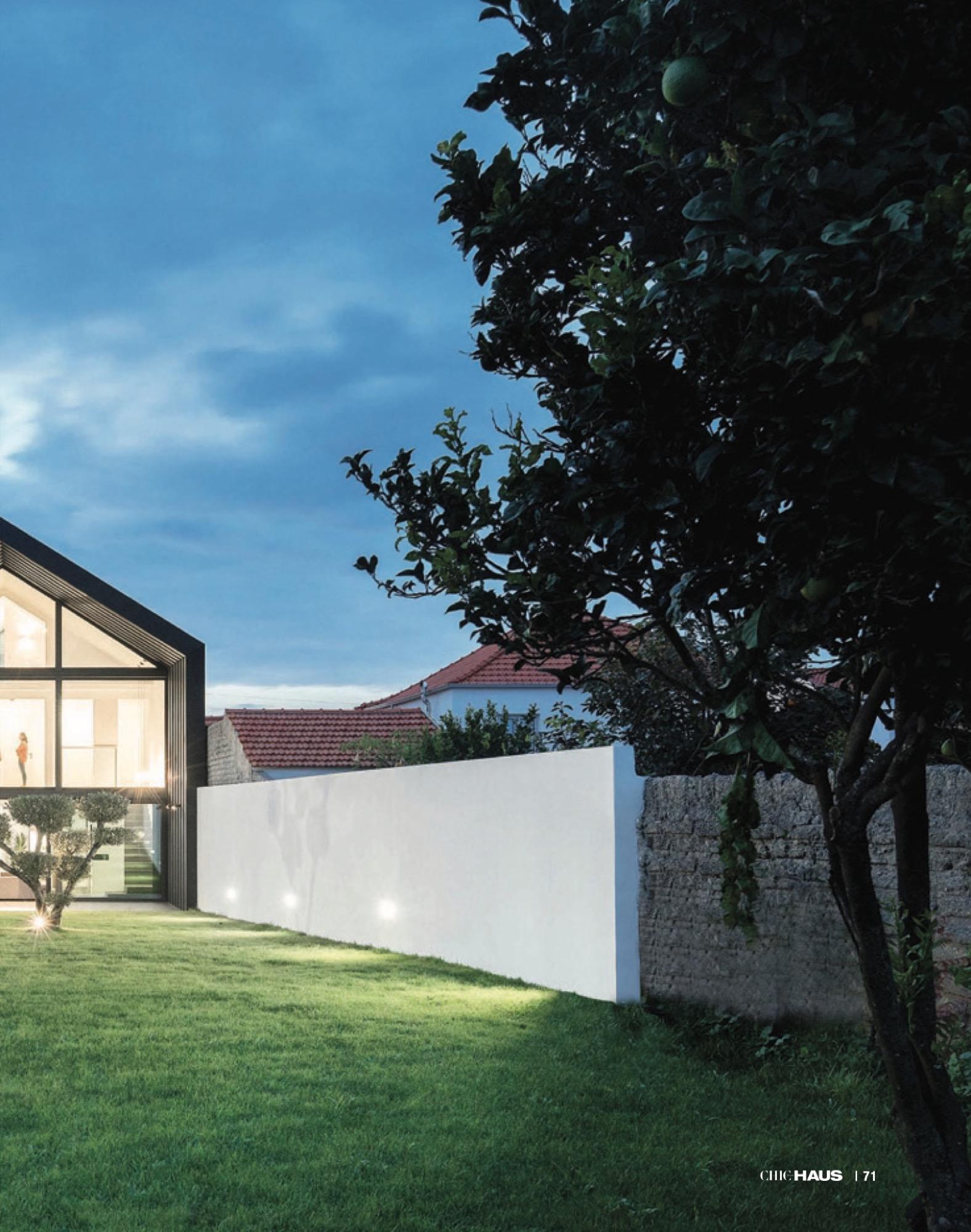 Chic Haus Magazine September Casa Arco Frari Arquitectura 227 71 do fotografo Ivo Tavares Studio
