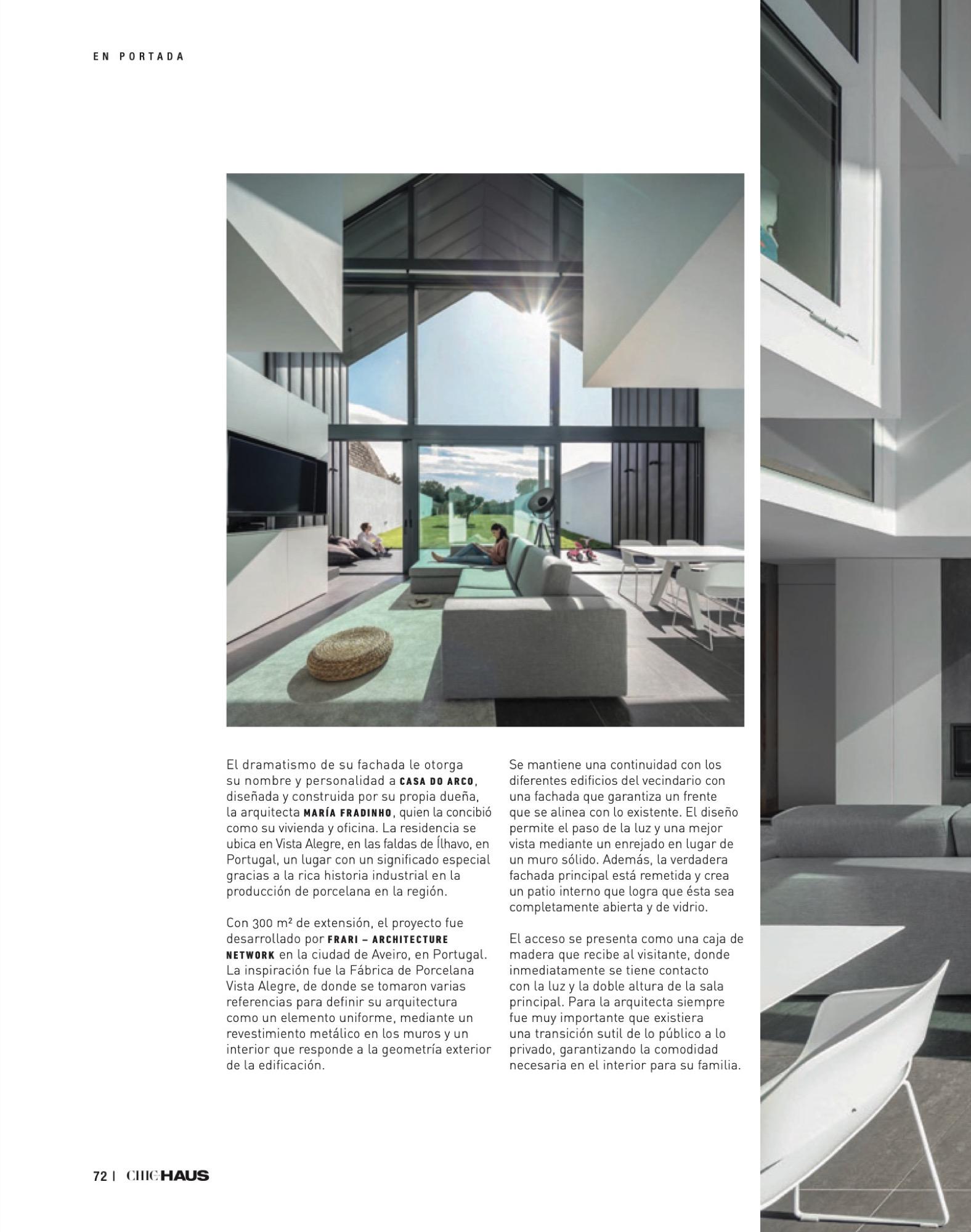 Chic Haus Magazine September Casa Arco Frari Arquitectura 228 72 do fotografo Ivo Tavares Studio