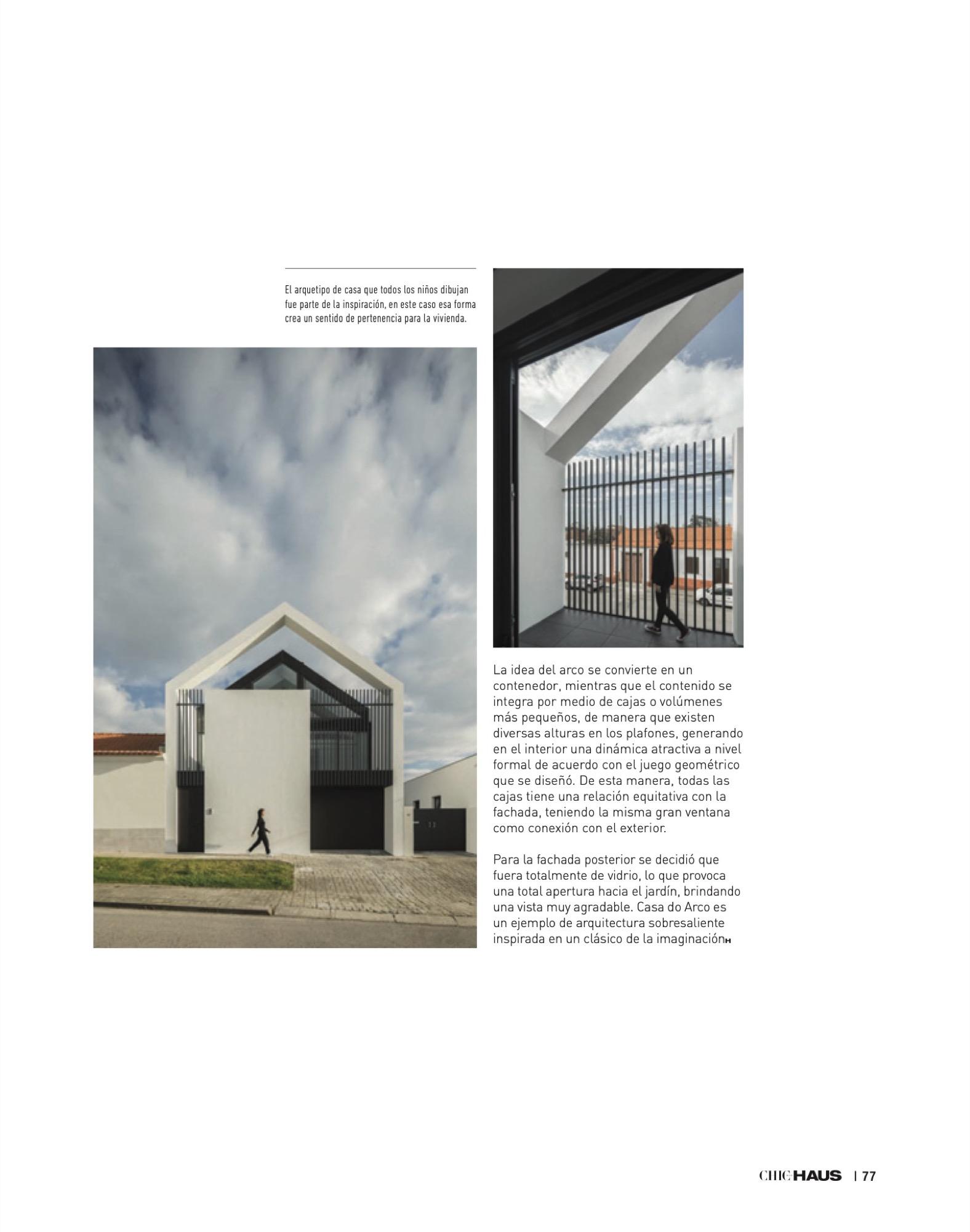 Chic Haus Magazine September Casa Arco Frari Arquitectura 233 77 do fotografo Ivo Tavares Studio