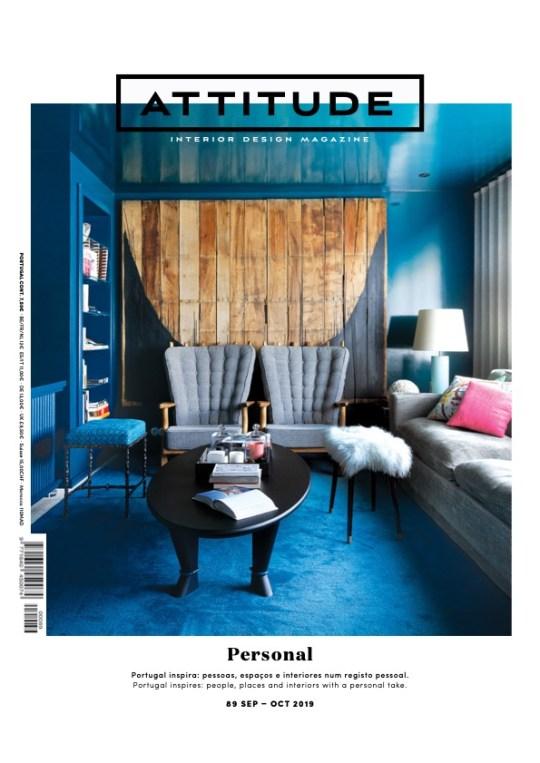 Revista Attitude Magazine 89 Restaurante Fama Aveiro Arquitectura Paulo Martins do fotografo Ivo Tavares Studio