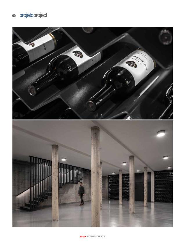Revista Arqa 135 Arquitecto Joao Albano Adega 5 5 do fotografo Ivo Tavares Studio