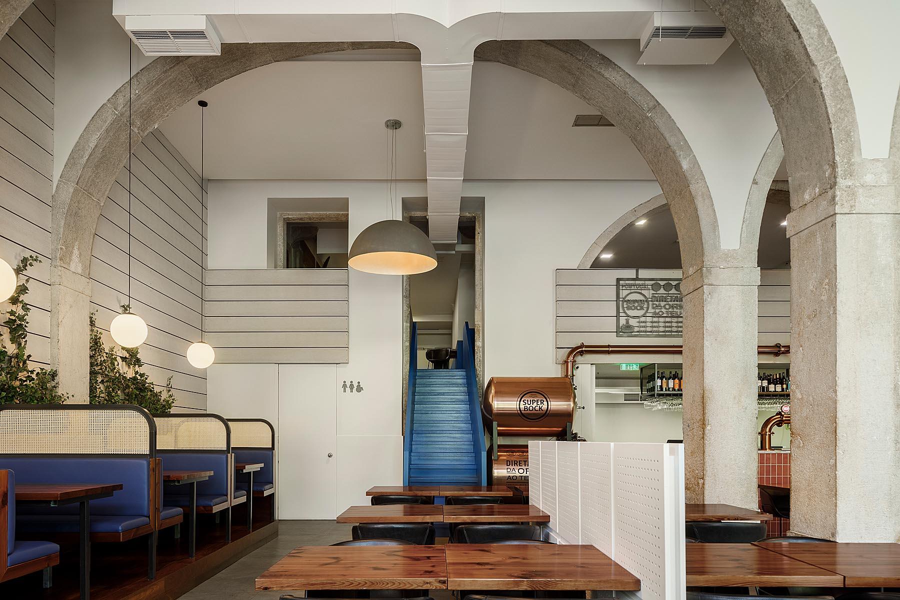 Restaurante Marco em Santos, Lisboa, do atelier de Arquitectura