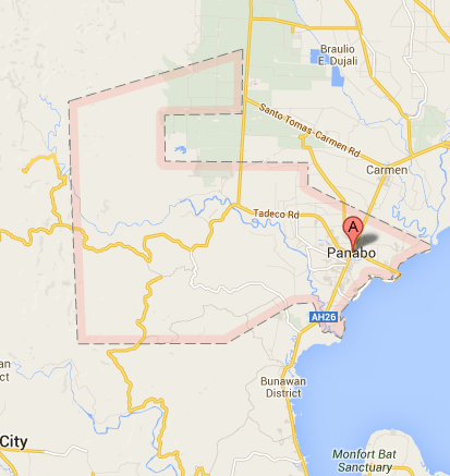 Map of Panabo City | Panabo Barangay Elections 2013