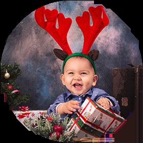 Семейни и детски Коледни фотосесии