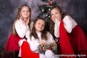 Коледни фотосесии от Iv Photography
