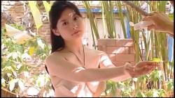 時田愛梨(とっきー) セクシー水着でローション塗り塗り