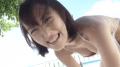 忍野さら 横乳丸出しのエロハイレグレオタードでプールで泳いだり
