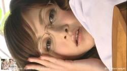 杉原杏璃 眼鏡の女医が飴舐めたりしながらいやらしく迫ってくる