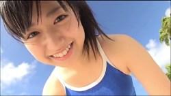 伊倉愛美 スクール水着のかわいい生徒がストレッチしたり