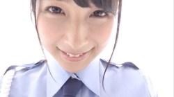 川崎あや かわいい彼女が婦警さんのコスプレ脱いで白ランジェリーでエロポーズ