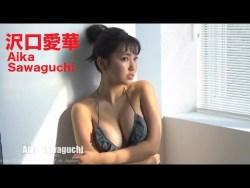 沢口愛華 色んなビキニで多彩な表情と豊満な身体見せながらグラビア撮影