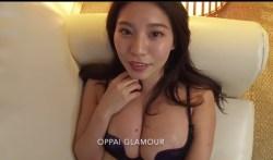 久松かおり ホテルで巨乳の彼女といちゃつく