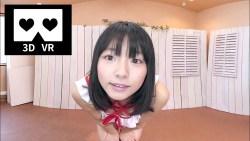葉月つばさ フリフリの可愛いビキニでカメラに迫ってくる美少女【VR】