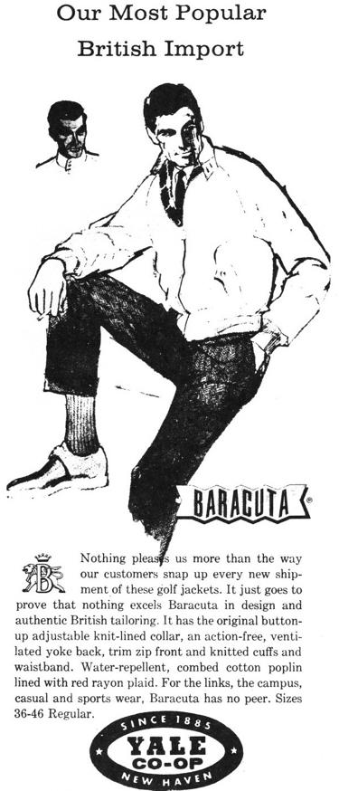 Image result for baracuta jacket ivy