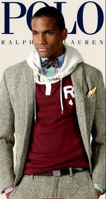Polo ralph lauren black male models