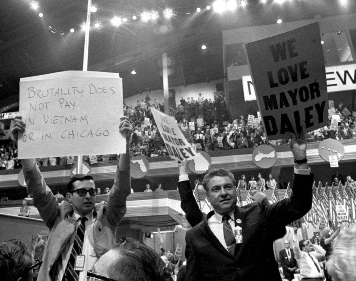 A Look Back At The 1968 Democratic Convention